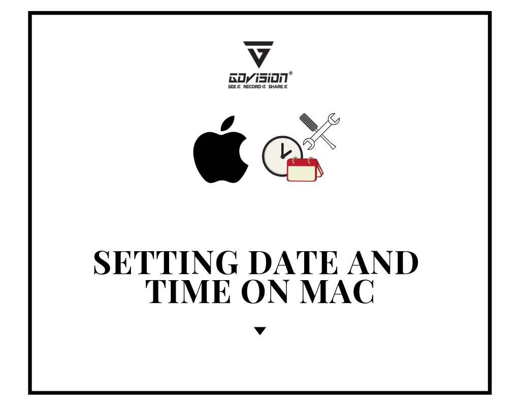 Setting Date and Time On MAC