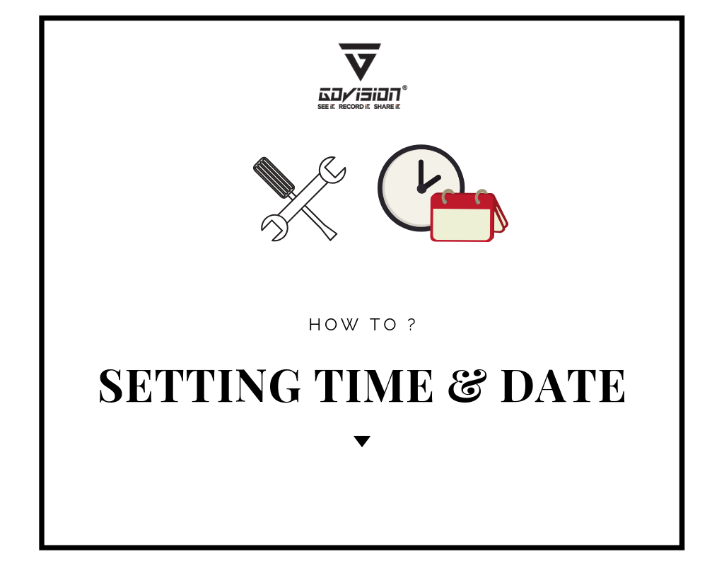 Setting Date and Time on Windows
