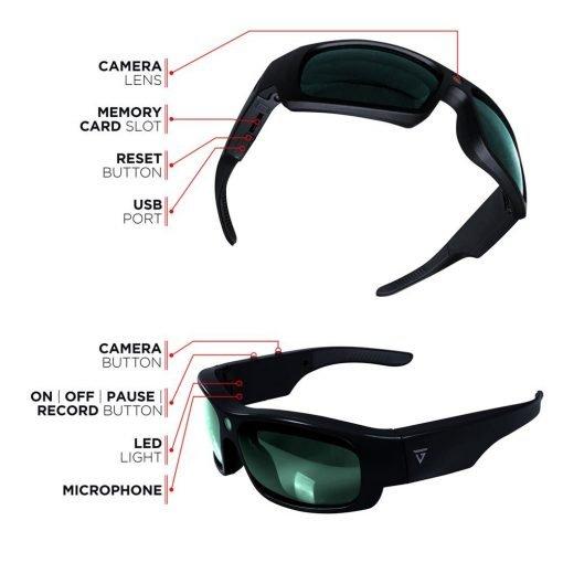 HD Video capture Sunglasses