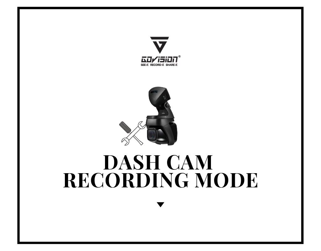 Dash Cam Recording