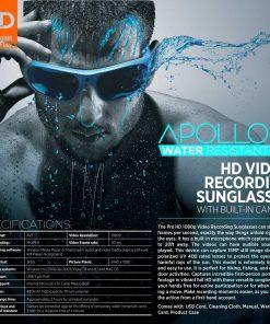 Water Resistant Camera Sunglasses 3