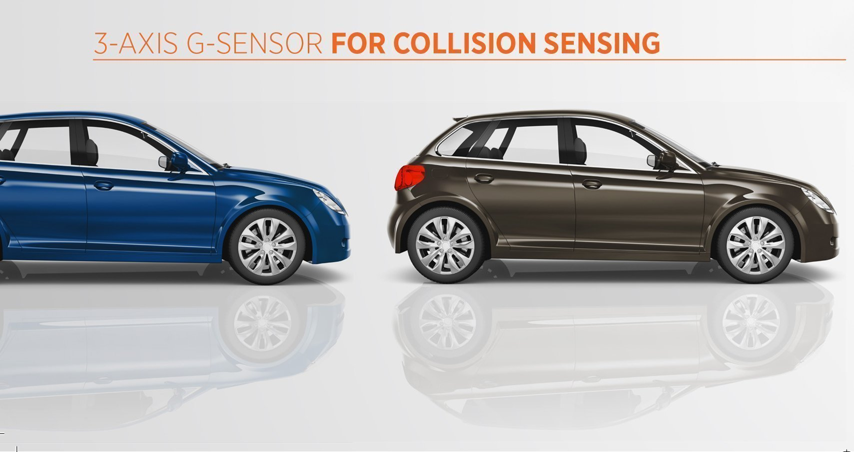 Dash Cam with Collision Sensor