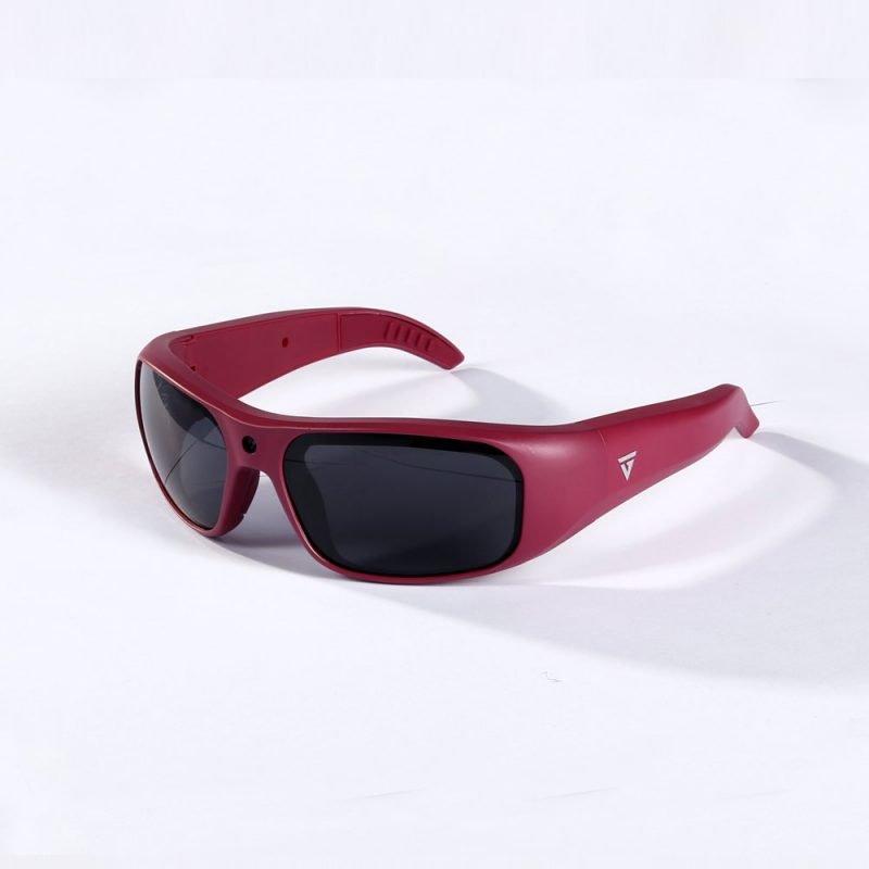 Water Resistant Camera Sunglasses Maroon 1