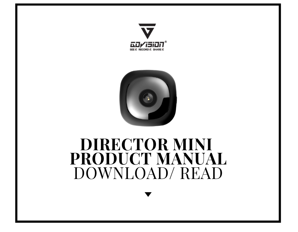 Director MINI Product Manuall