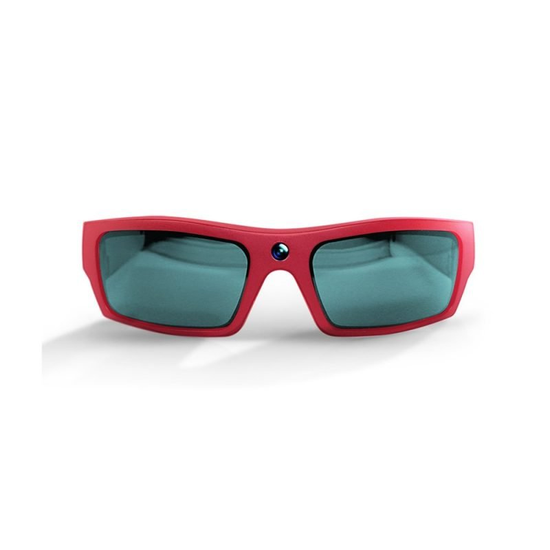 Video Recording Sunglasses Red
