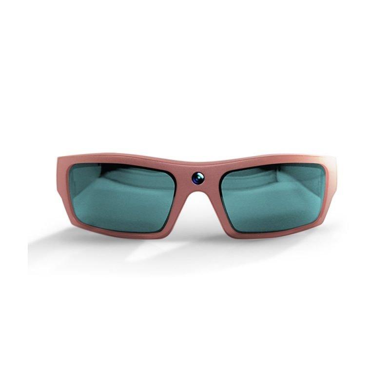 Video Recording Sunglasses Rose Gold