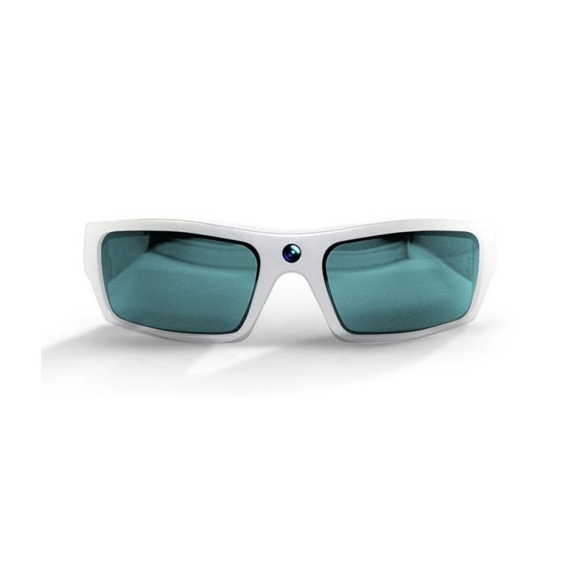 Video Recording Sunglasses White
